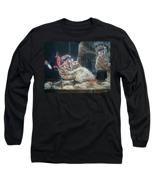 Abbott And Costello Meet Frankenstein Long Sleeve T-Shirt