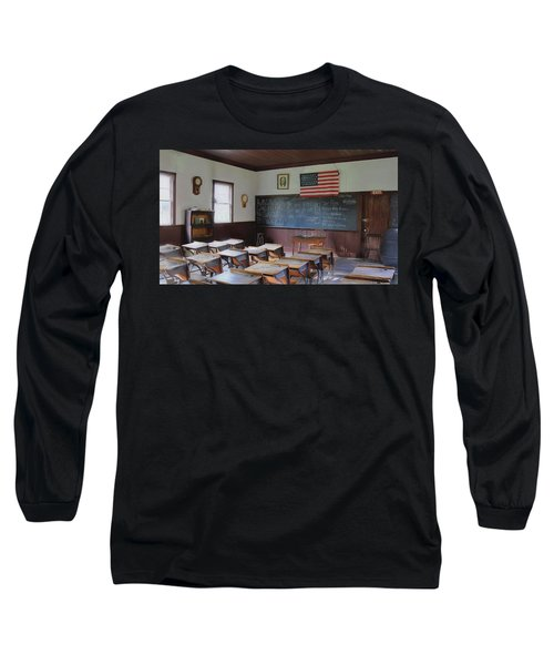Long Sleeve T-Shirt featuring the digital art Abc's Of Learning by Sharon Batdorf