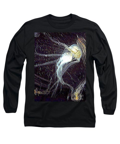Long Sleeve T-Shirt featuring the photograph Aberration Of Jelly Fish In Rhapsody Series 2 by Antonia Citrino