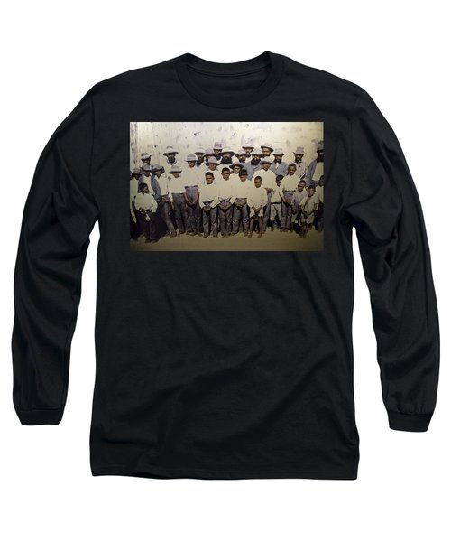 Long Sleeve T-Shirt featuring the photograph Aboriginal Life 1901 To 1914 by Miroslava Jurcik