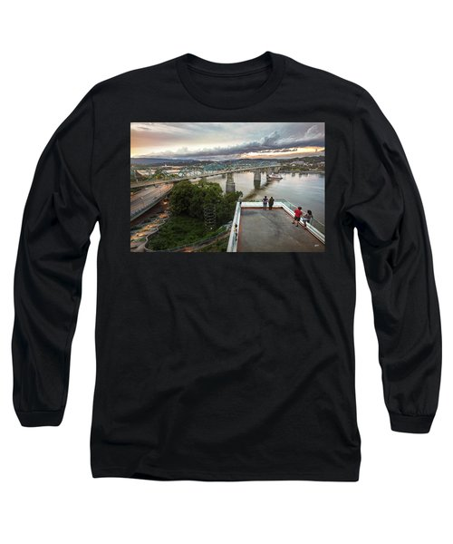 Above The Bluff, Musuem View Long Sleeve T-Shirt