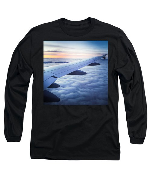 Above The Clouds 01 Long Sleeve T-Shirt by Matthias Hauser