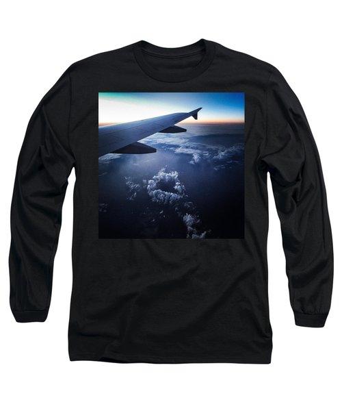 Above The Clouds 02 Heart Cloud Long Sleeve T-Shirt