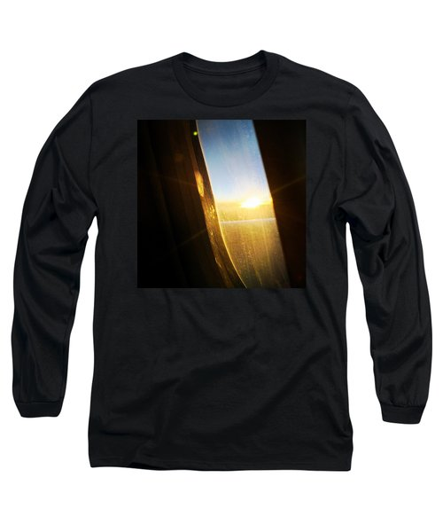 Above The Clouds 05 - Sun In The Window Long Sleeve T-Shirt by Matthias Hauser