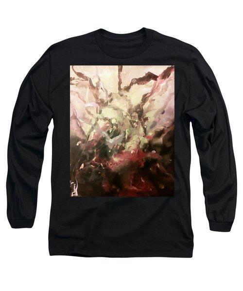 Abstract #01 Long Sleeve T-Shirt by Raymond Doward
