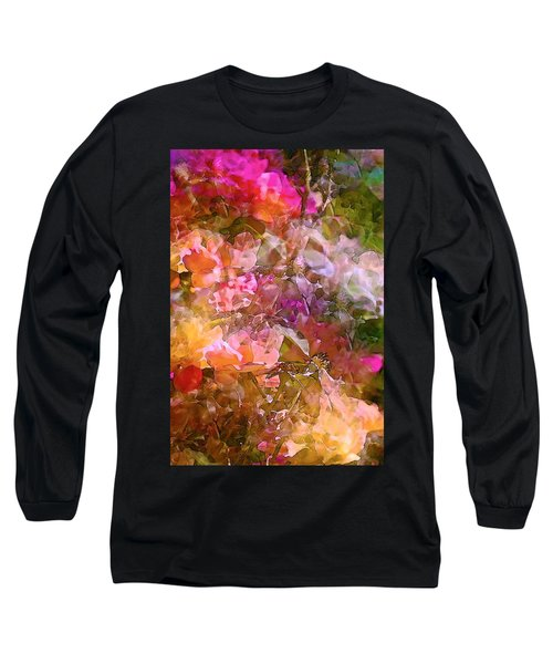Abstract 276 Long Sleeve T-Shirt by Pamela Cooper