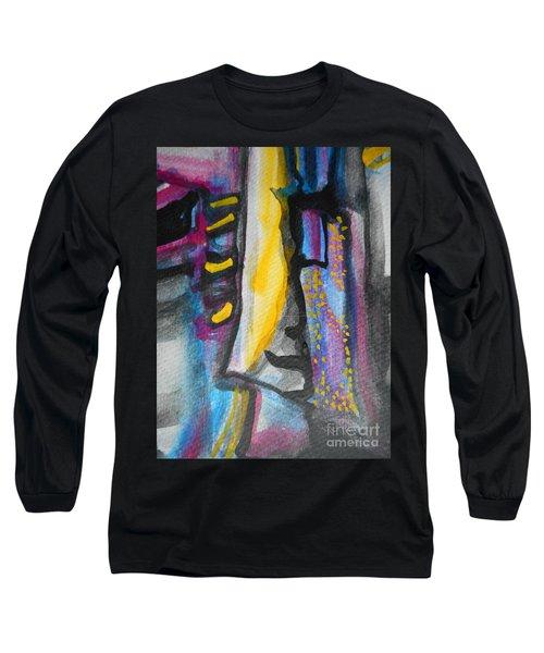 Abstract-8 Long Sleeve T-Shirt