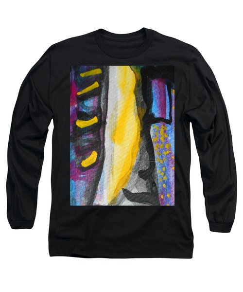 Abstract-8 Long Sleeve T-Shirt