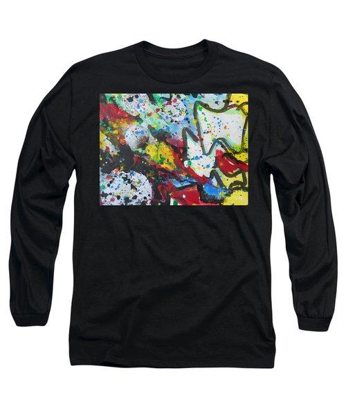 Abstract-9 Long Sleeve T-Shirt