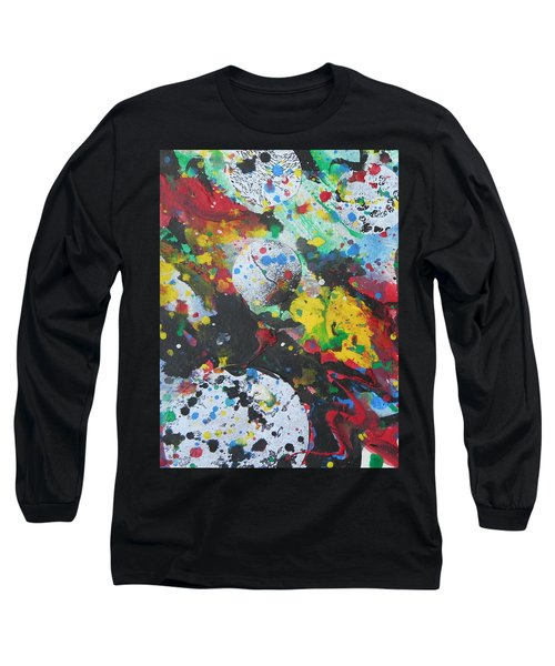 Abstract-9 Long Sleeve T-Shirt