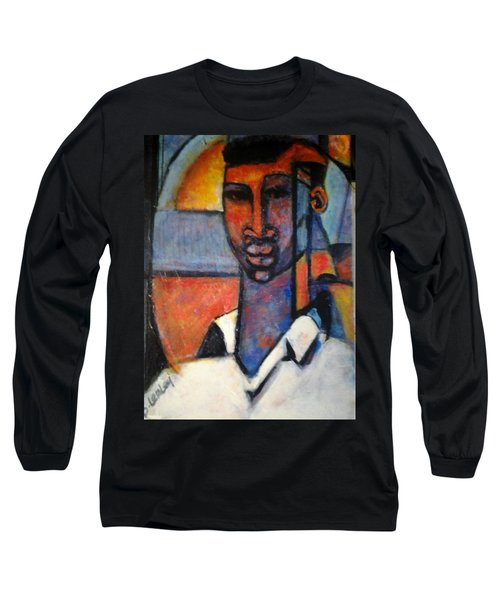 Abstract African Long Sleeve T-Shirt