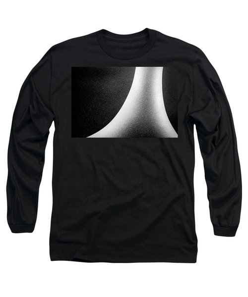 Abstract-black And White Long Sleeve T-Shirt