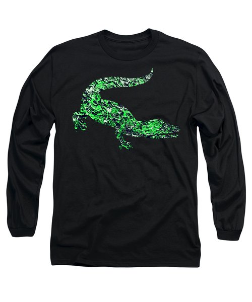 Abstract Crocodile Long Sleeve T-Shirt