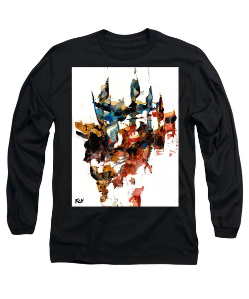 Abstract Expressionism Painting Series 750.102910 Long Sleeve T-Shirt