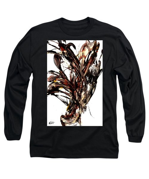 Abstract Expressionism Series 58.121210 Long Sleeve T-Shirt by Kris Haas