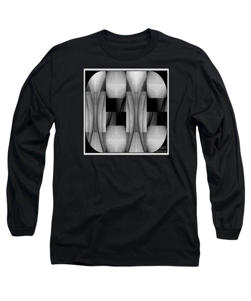Abstract Female Nude Image Iv Long Sleeve T-Shirt by Jack Dillhunt