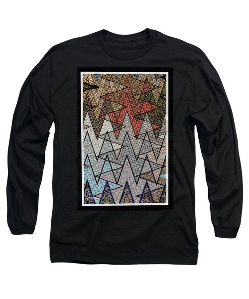 Abstract Floor  Long Sleeve T-Shirt
