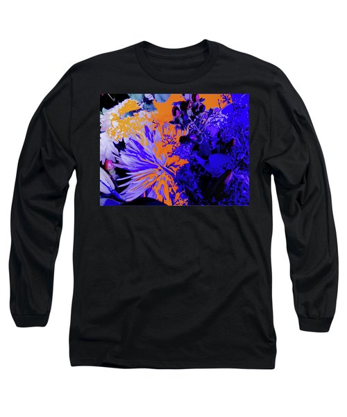 Abstract Flowers Of Light Series #1 Long Sleeve T-Shirt