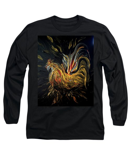 Abstract Gayu Long Sleeve T-Shirt