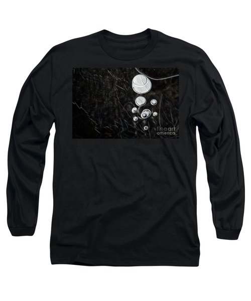 Abstract Ice Patterns II Long Sleeve T-Shirt