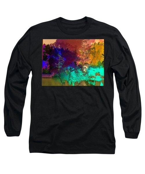 Abstract  Images Of Urban Landscape Series #4 Long Sleeve T-Shirt
