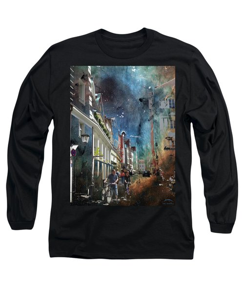 Abstract  Images Of Urban Landscape Series #6 Long Sleeve T-Shirt