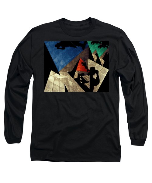 Long Sleeve T-Shirt featuring the photograph Abstract Iterations by Wayne Sherriff