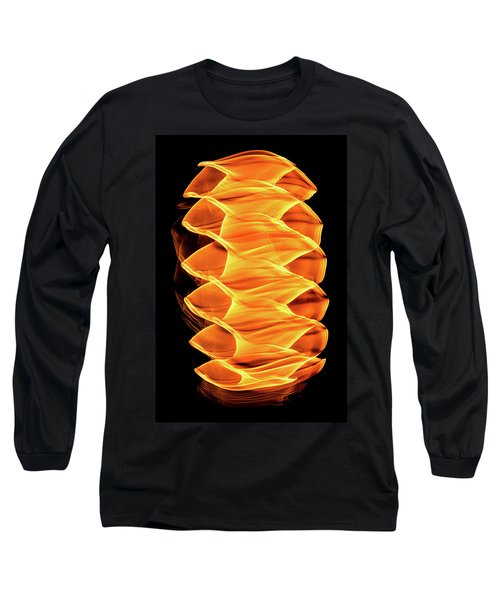 Abstract Light Number 2 Long Sleeve T-Shirt