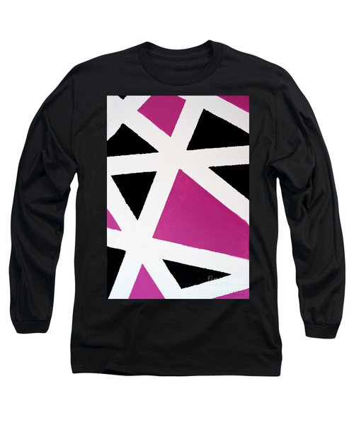 Abstract M1015bp Long Sleeve T-Shirt