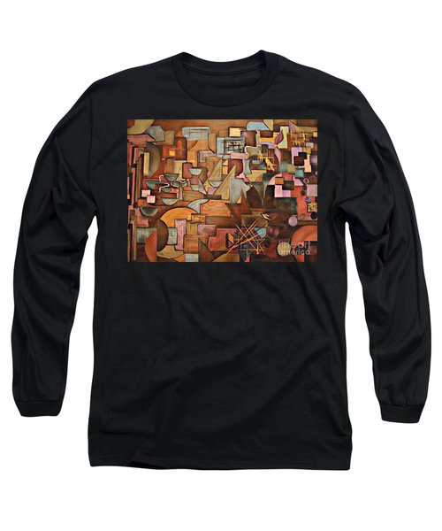 Abstract Mind Long Sleeve T-Shirt