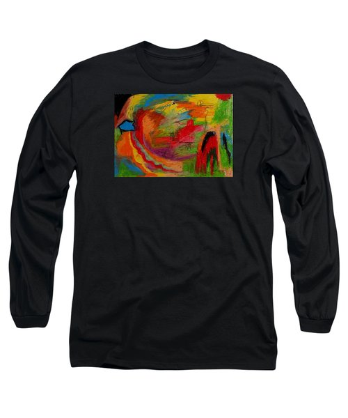 Abstract No. 3 Inner Landscape Long Sleeve T-Shirt