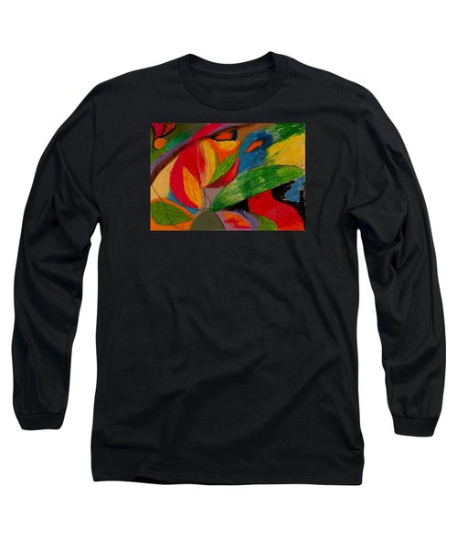 Abstract No. 5 Springtime Long Sleeve T-Shirt