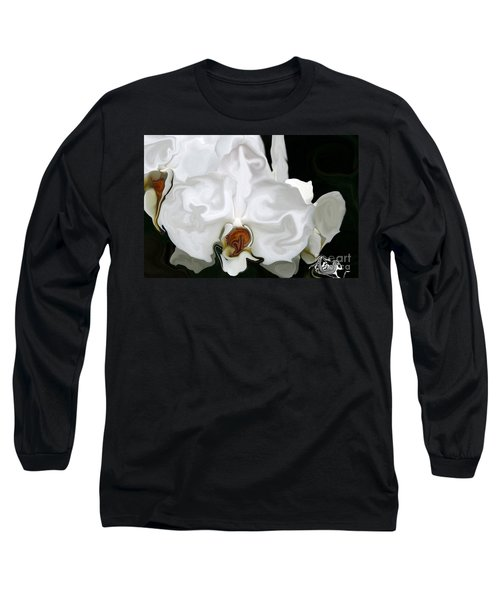 Abstract Orchid  Long Sleeve T-Shirt
