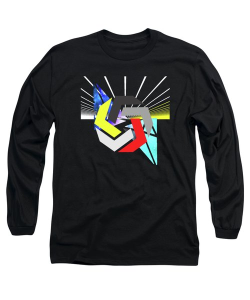 Abstract Space 6 Long Sleeve T-Shirt by Russell K