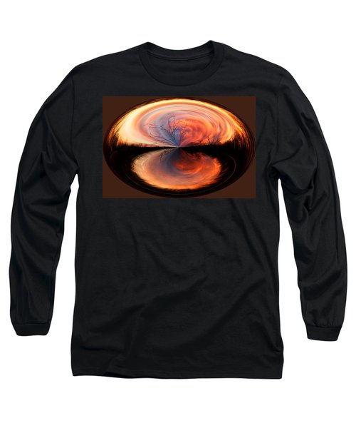 Abstract Sunrise Long Sleeve T-Shirt