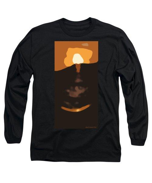 Abstract Sunset 33 Long Sleeve T-Shirt