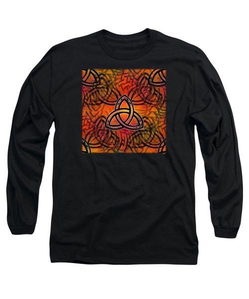 Abstract - Trinity Long Sleeve T-Shirt