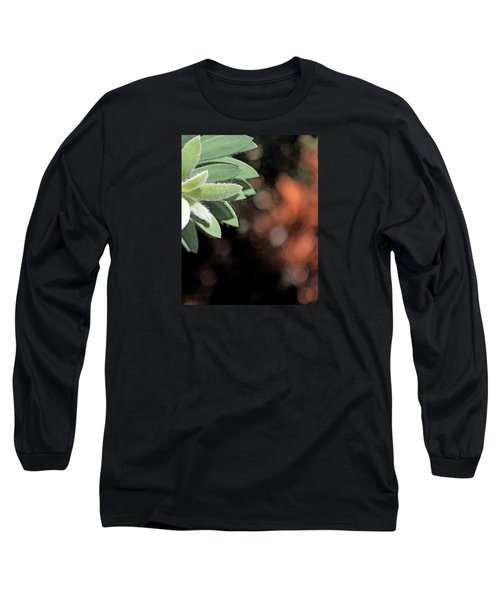 Long Sleeve T-Shirt featuring the photograph Abstract Watercolor by Judy Vincent