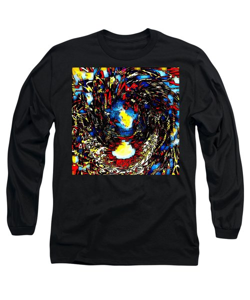 Abstract Watercolor  Long Sleeve T-Shirt