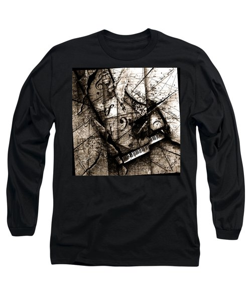 Abstracta 27 The Grand Illusion  Long Sleeve T-Shirt by Gary Bodnar