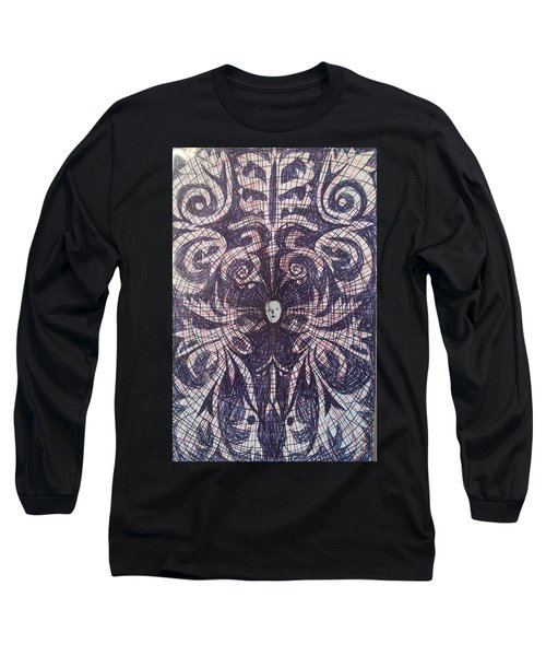Abstraction 7 Long Sleeve T-Shirt