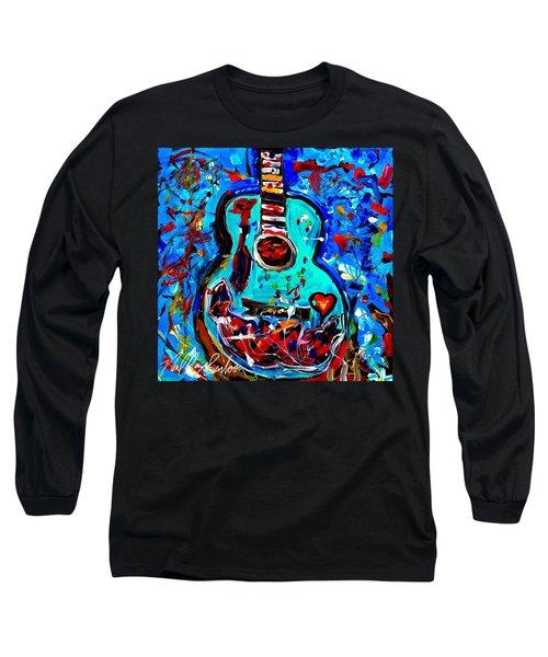 Acoustic Love Guitar Long Sleeve T-Shirt