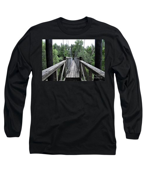 Long Sleeve T-Shirt featuring the photograph Across The Great Divide by John Black