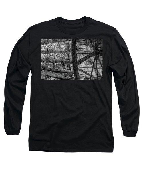 Adam's Mill Water Wheel Long Sleeve T-Shirt