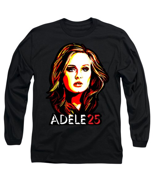 Adele 25-1 Long Sleeve T-Shirt by Tim Gilliland