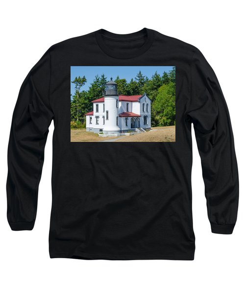 Admiralty Head Lighthouse  Long Sleeve T-Shirt