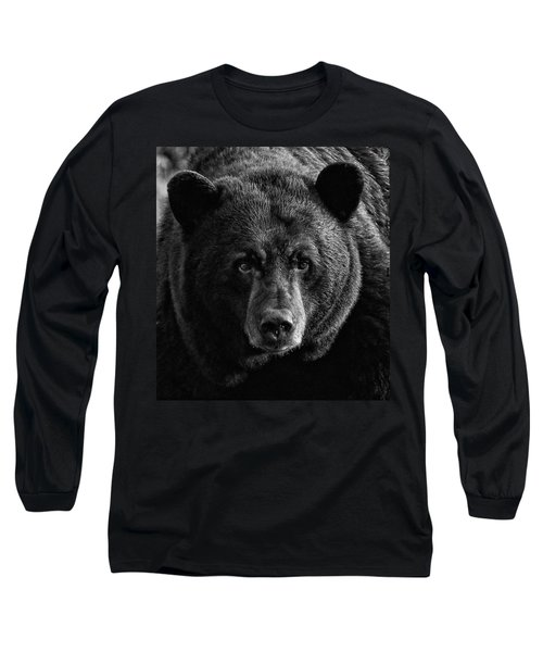 Long Sleeve T-Shirt featuring the photograph Adult Male Black Bear by Coby Cooper