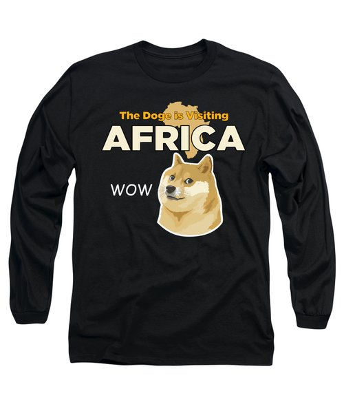 Africa Doge Long Sleeve T-Shirt by Michael Jordan