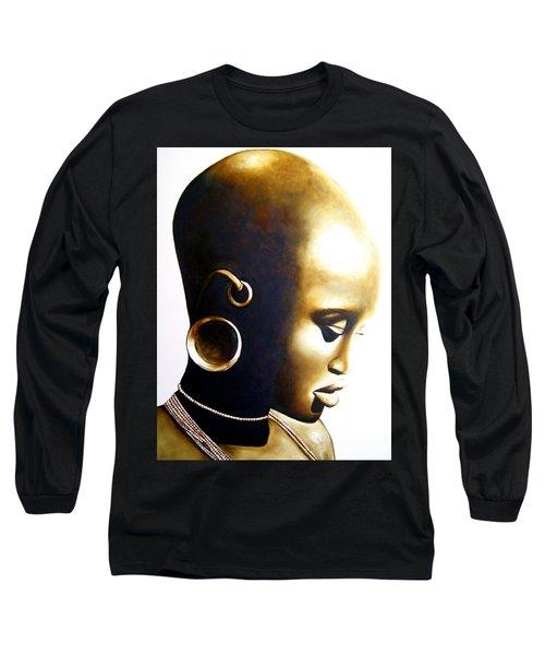 African Lady - Original Artwork Long Sleeve T-Shirt
