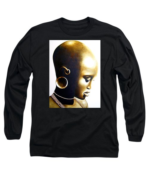 African Lady - Original Artwork Long Sleeve T-Shirt